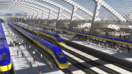 High-speed rail will provide faster connections between the Bay Area, the Central Valley and Southern California.