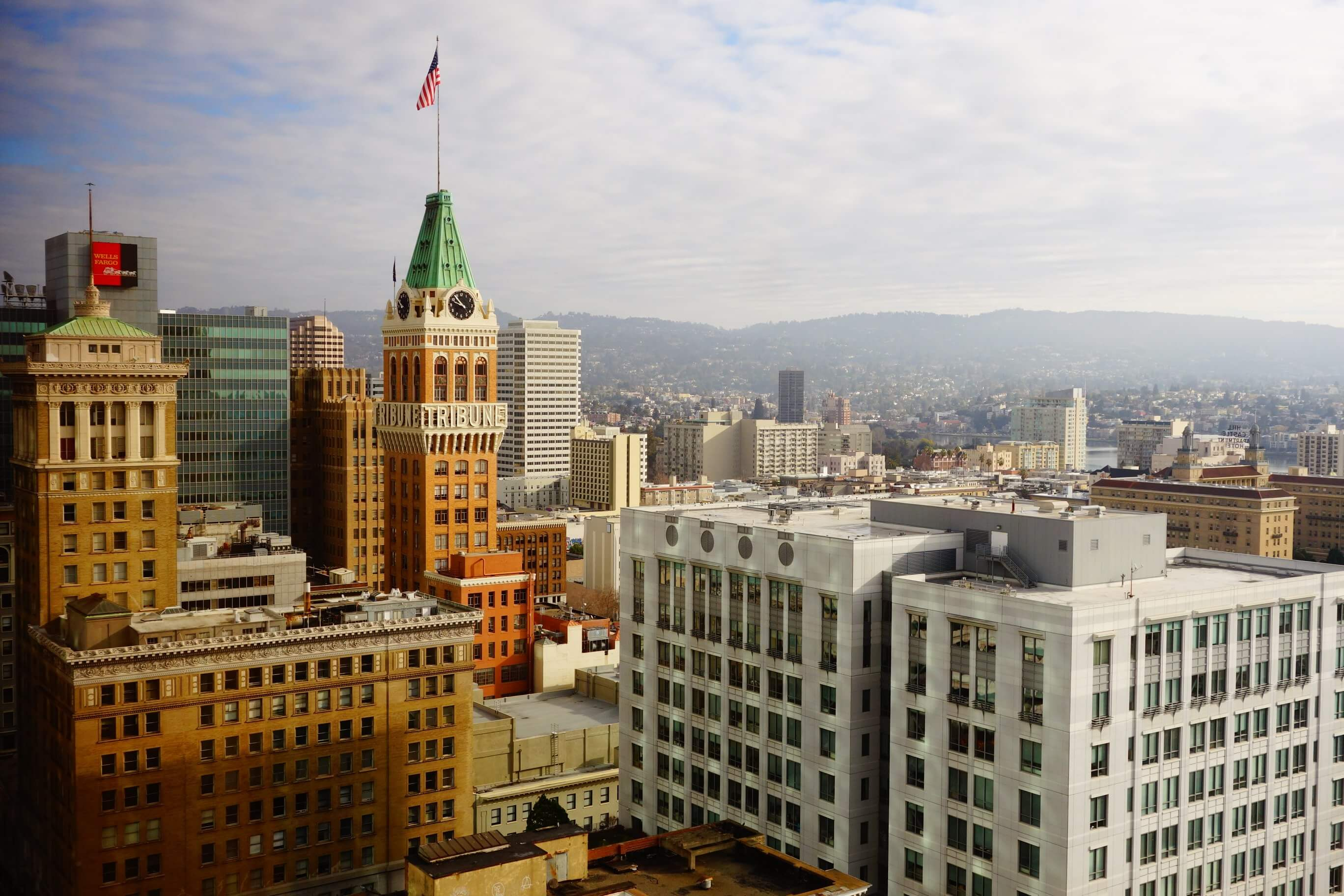 Oakland is the third largest city in the Bay Area.